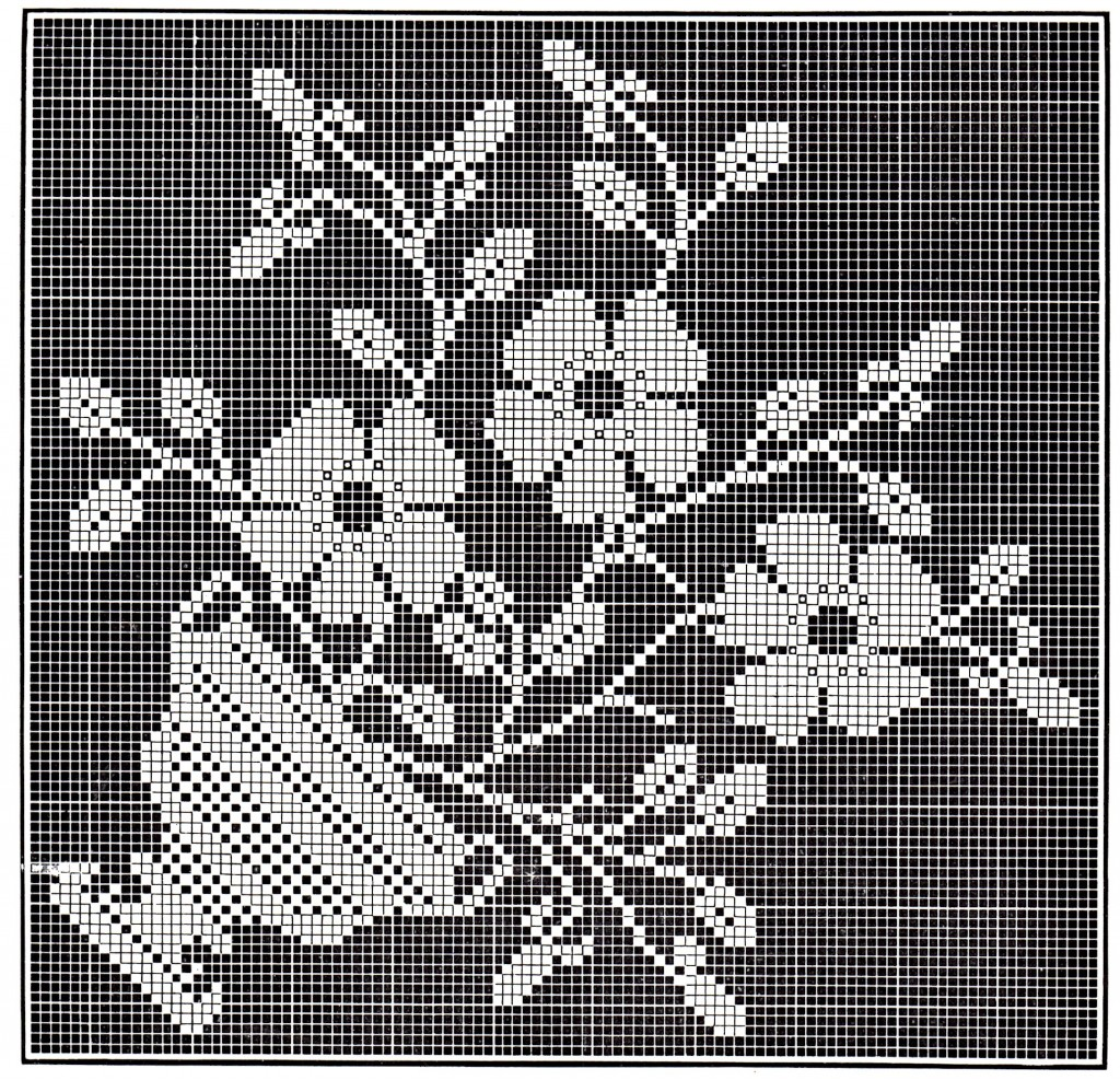 Filet Crochet Instructions Grid Patterns Pdf Download Dinocrofo